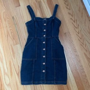 H&M Denim Button-Up Dress
